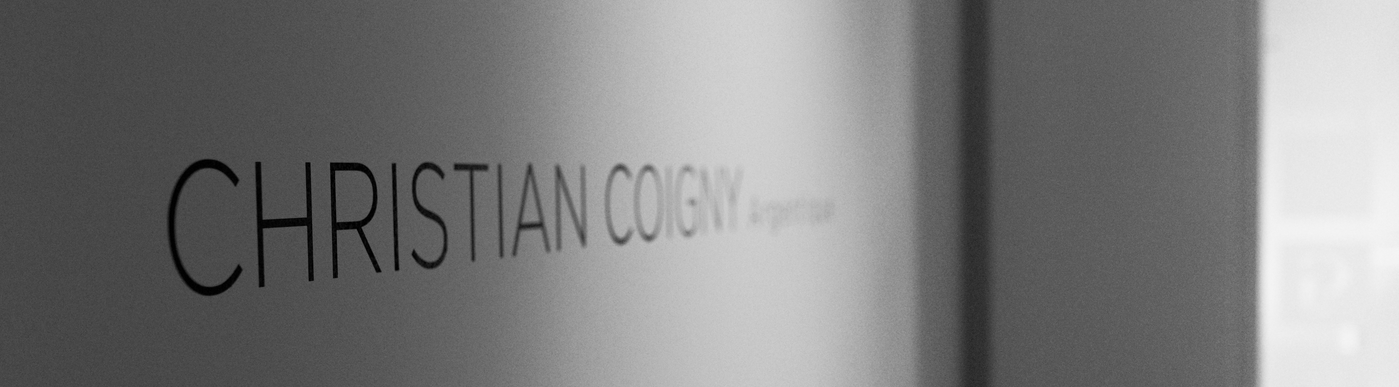 Vernissage Christian Coigny