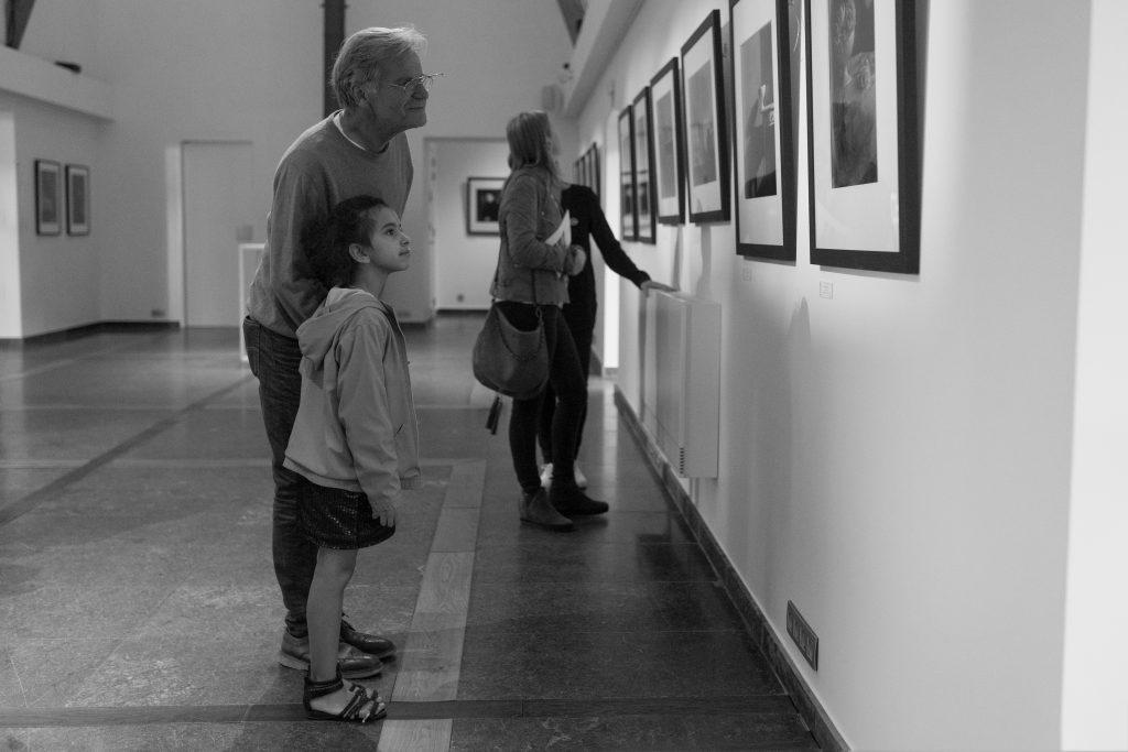 Christian Coigny et Jandira à l'exposition au domaine de Graux à Tournai