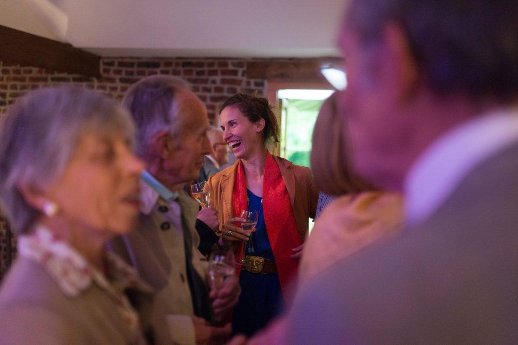 Soirée mariage mariés salle amphytrion jardin lille nord invités reportage