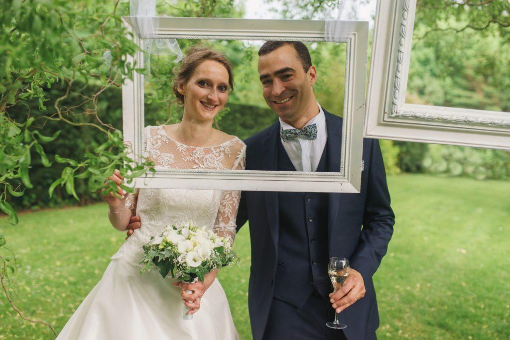 Soirée mariage mariés salle amphytrion jardin lille nord