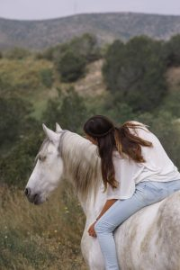 Apoline et Ithaque cheval équitation éthologie