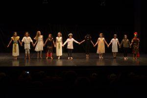 photographe Théâtre Haubourdin Anubis Cléopâtre César Centre culturel loos lomme lambersart englos hallennes weppes lille acteurs comédiens