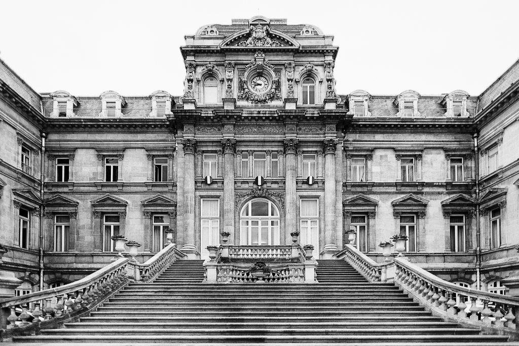 préfecture lille république photo architecture centre ville noir et blanc