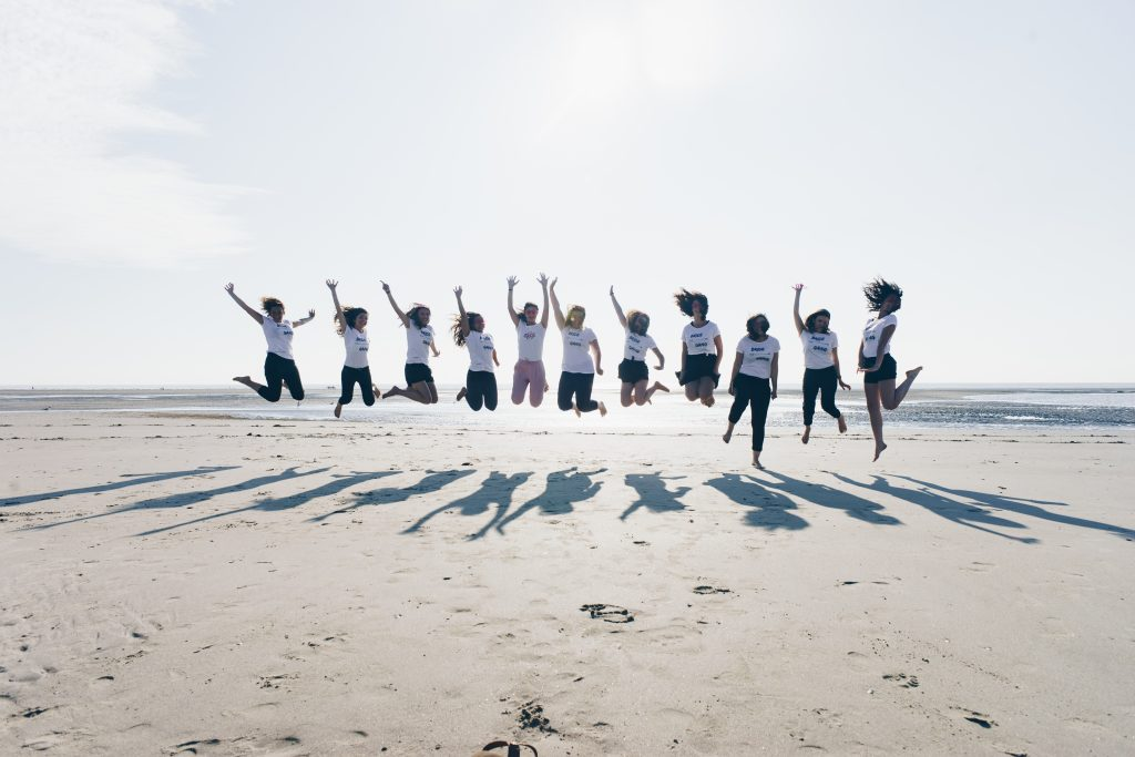 séance photo evjf touquet plage activité originale enterrement de vie de jeune fille lille nord pas de calais hauts de france