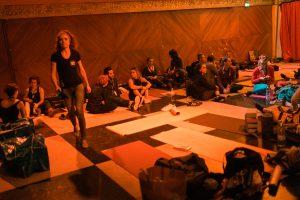 Photographe Pole Dance backstage coulisses la Cigale loges maquillage coiffure préparatifs 9ème Compétition Française de Pole Dance championnat championne spectacle show scène