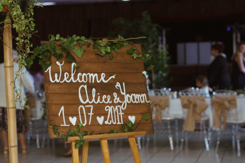 vin d'honneur mariage photographe