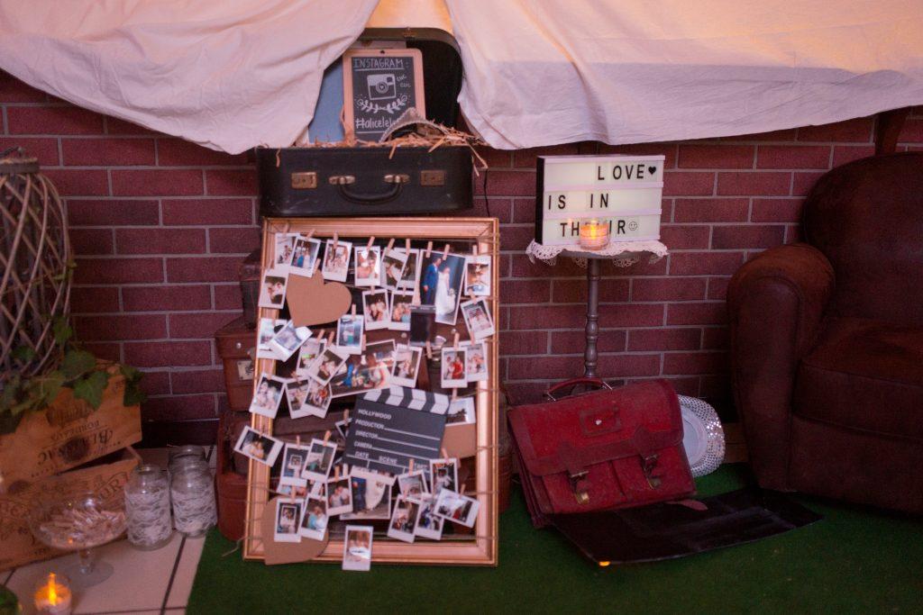 décoration mariage diy do it yourself homemade polaroid photobooth