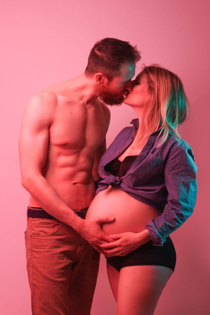 photo grossesse en couple
