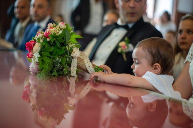 bébé mariage civil