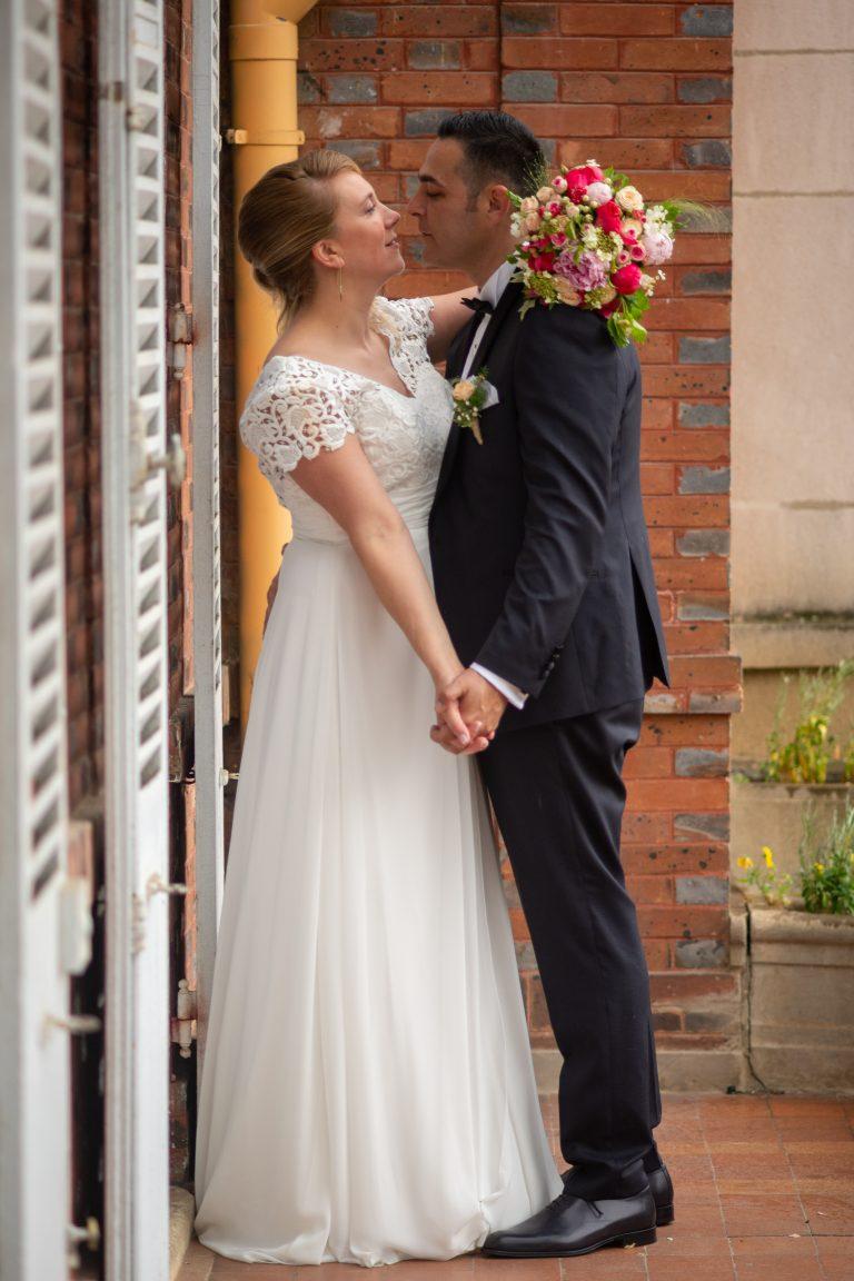 séance photo mariés mariage