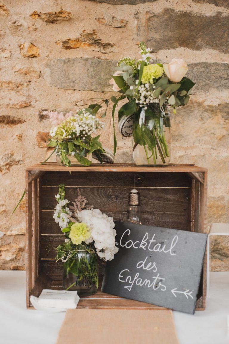fleuriste mariage champêtre