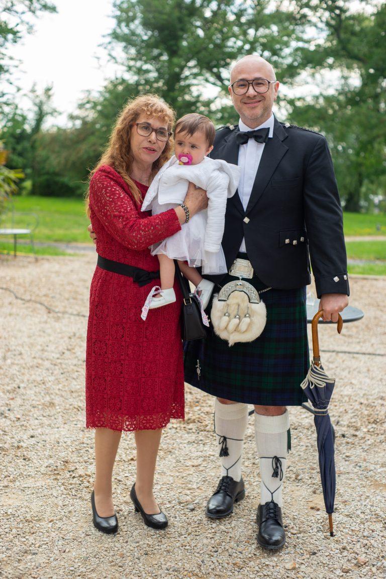 kilt écossais mariage