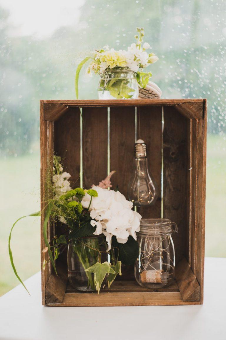 décoration fleurs mariage champêtre