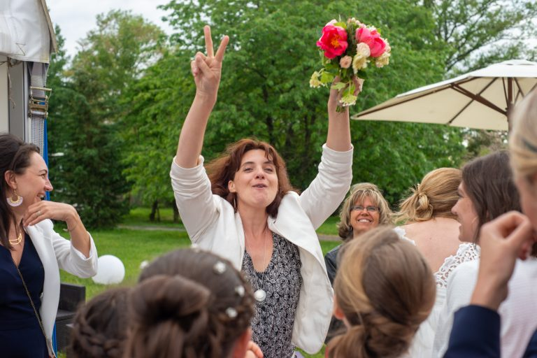 jeté lancer bouquet