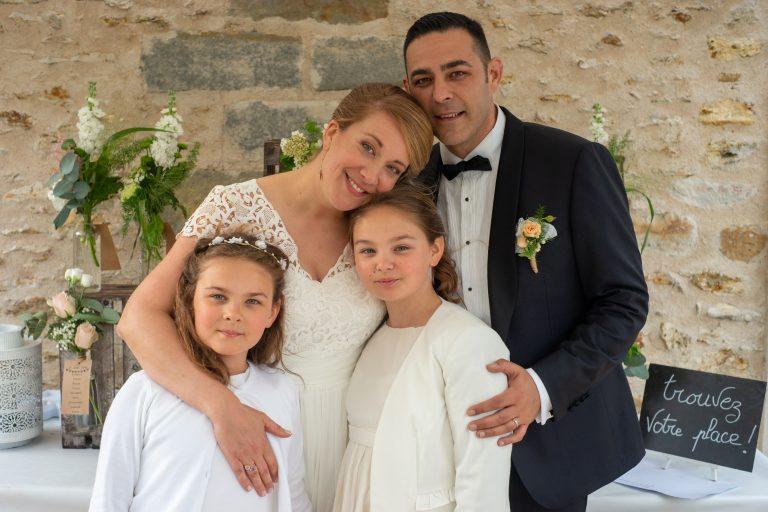 portrait famille mariage