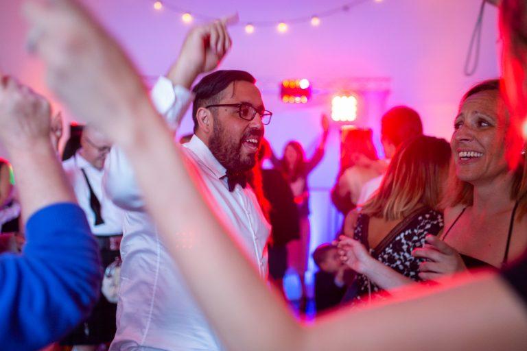 soirée mariage lumière DJ nomade lodge