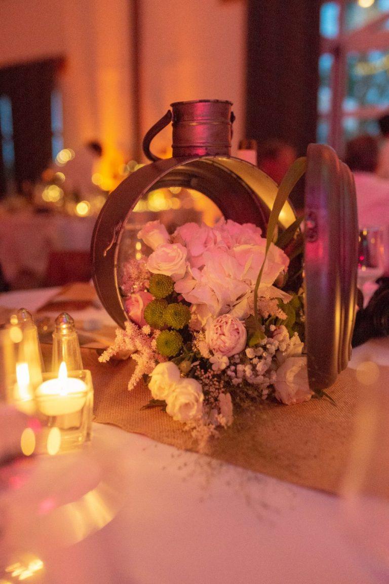 mariage thème champêtre fleur