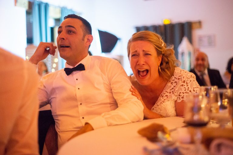 rire mariés