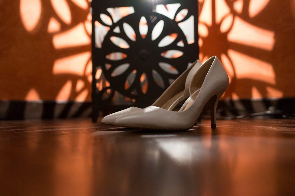 chaussures de mariée photo