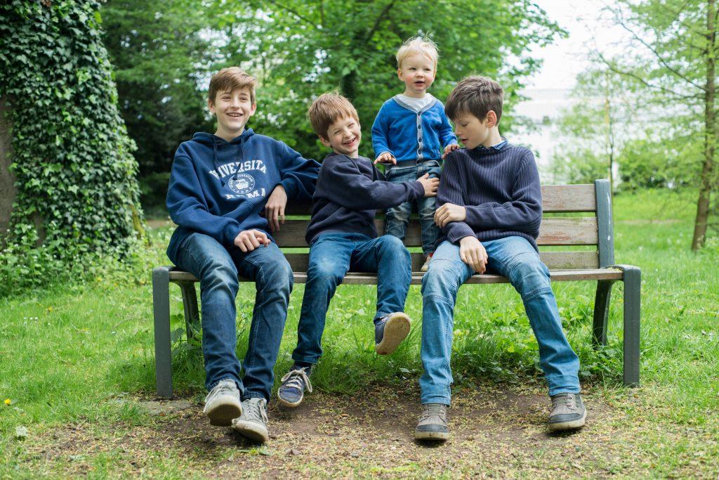 séance photo famille parc