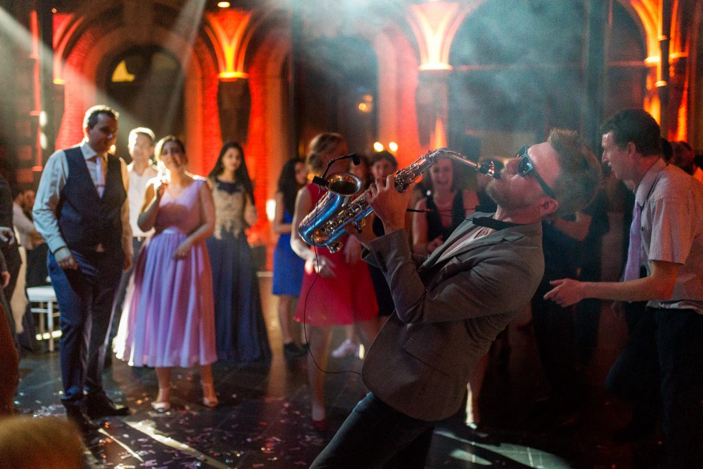saxophoniste mariage house classic