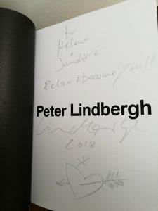 Peter Lindbergh dédicace