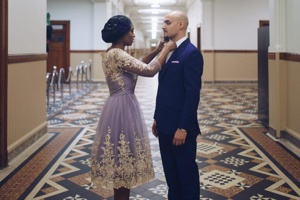 robe de mariée mariage à la mairie