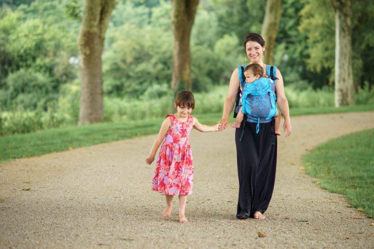 shooting famille lifestyle extérieur parc