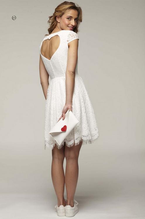 robe de mariée courte naf naf