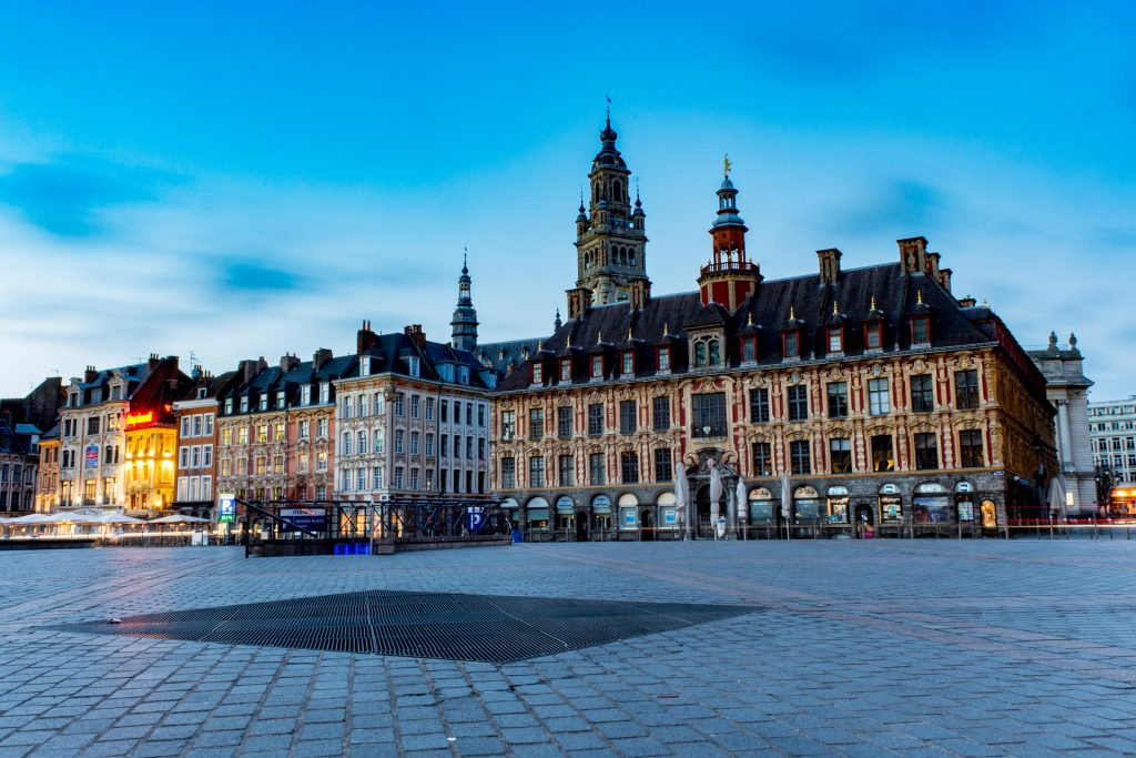 photographe architecture lille grand place