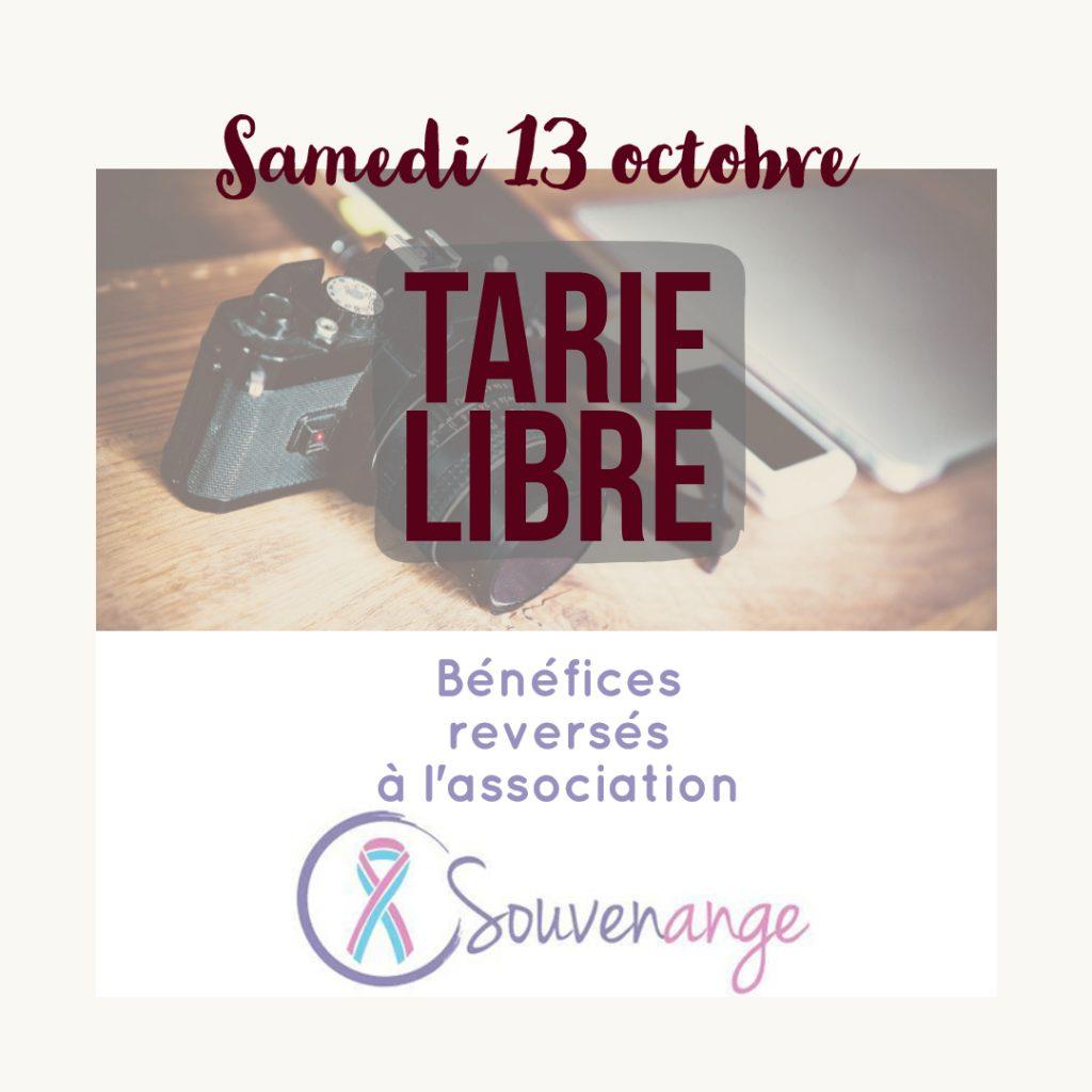 shooting tarif libre souvenange don association