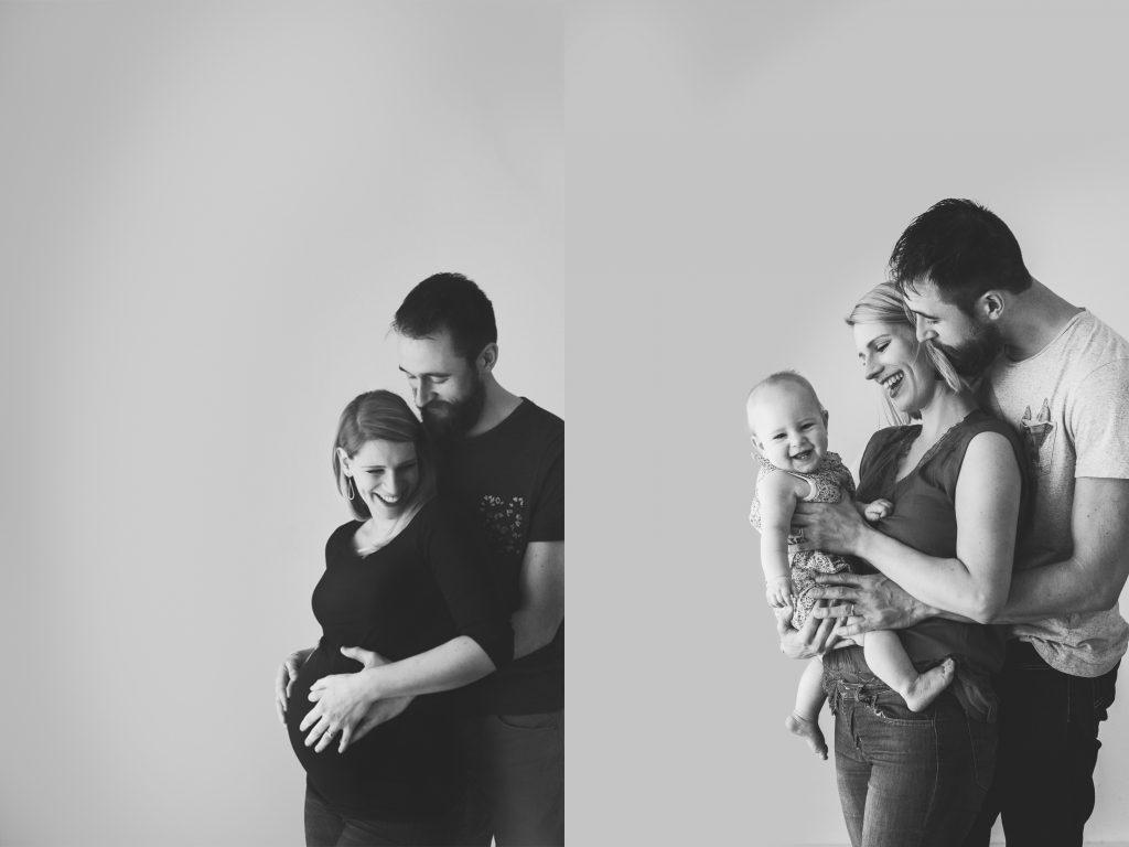 shooting photo avant après grossesse naissance