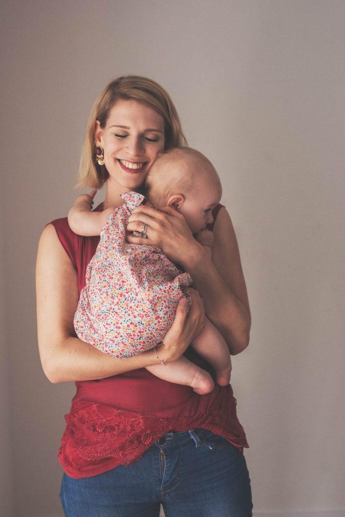 séance photo mère fille maman bébé