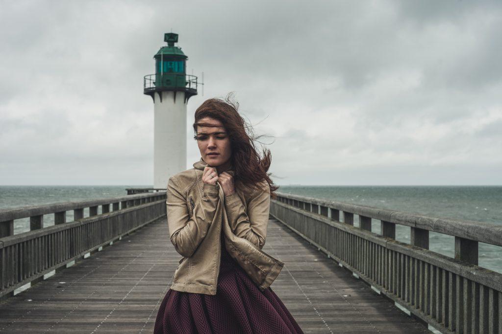 météo vent plage phare calais portrait extérieur lifestyle reportage phare