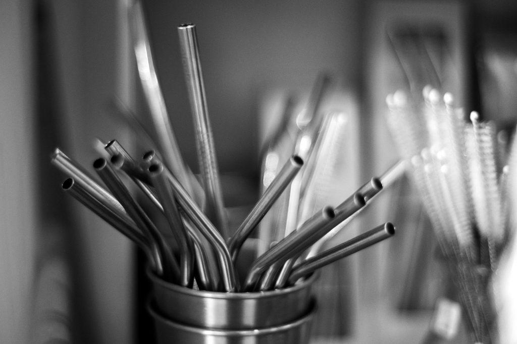zéro déchet paille aluminium bambou goupillon