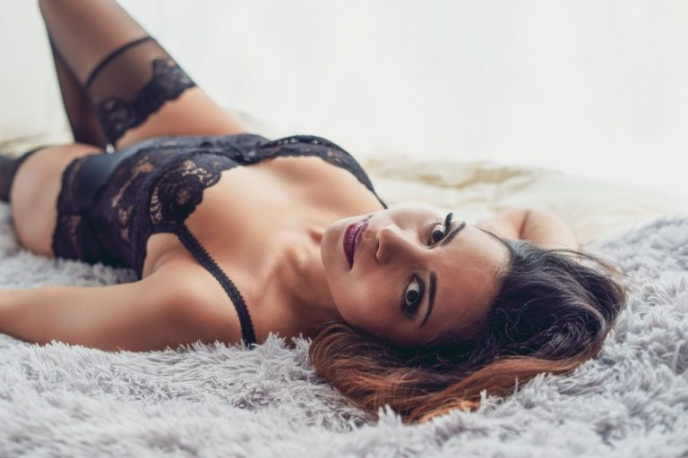 Photo boudoir lingerie sensuel