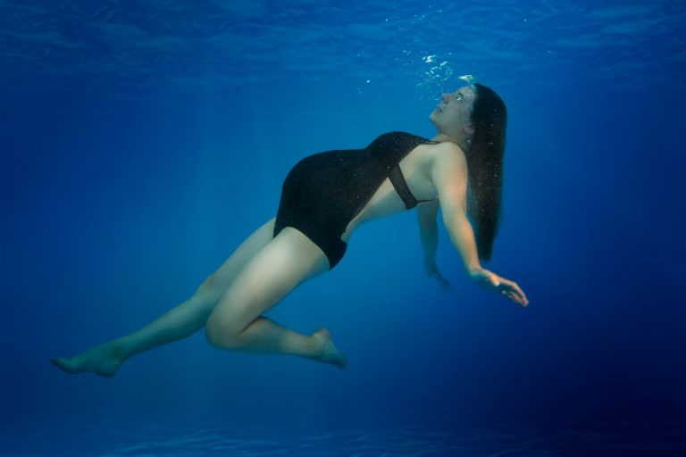 shooting photo piscine grossesse underwater