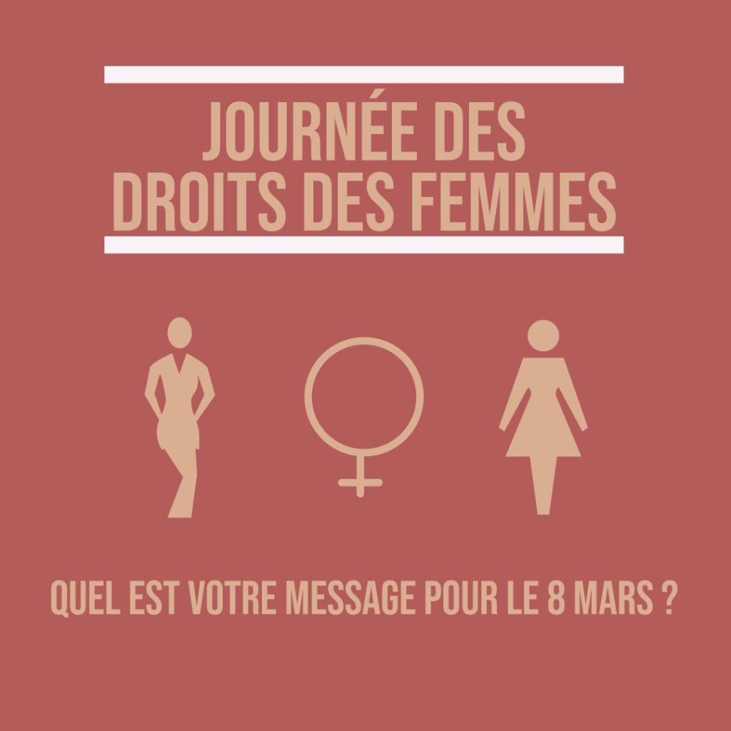 8 mars Journée droits femmes