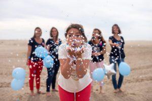 accessoires séance photo evjf confettis