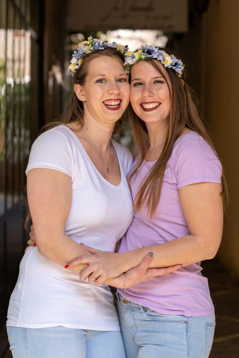 portrait future mariée soeur bride to be