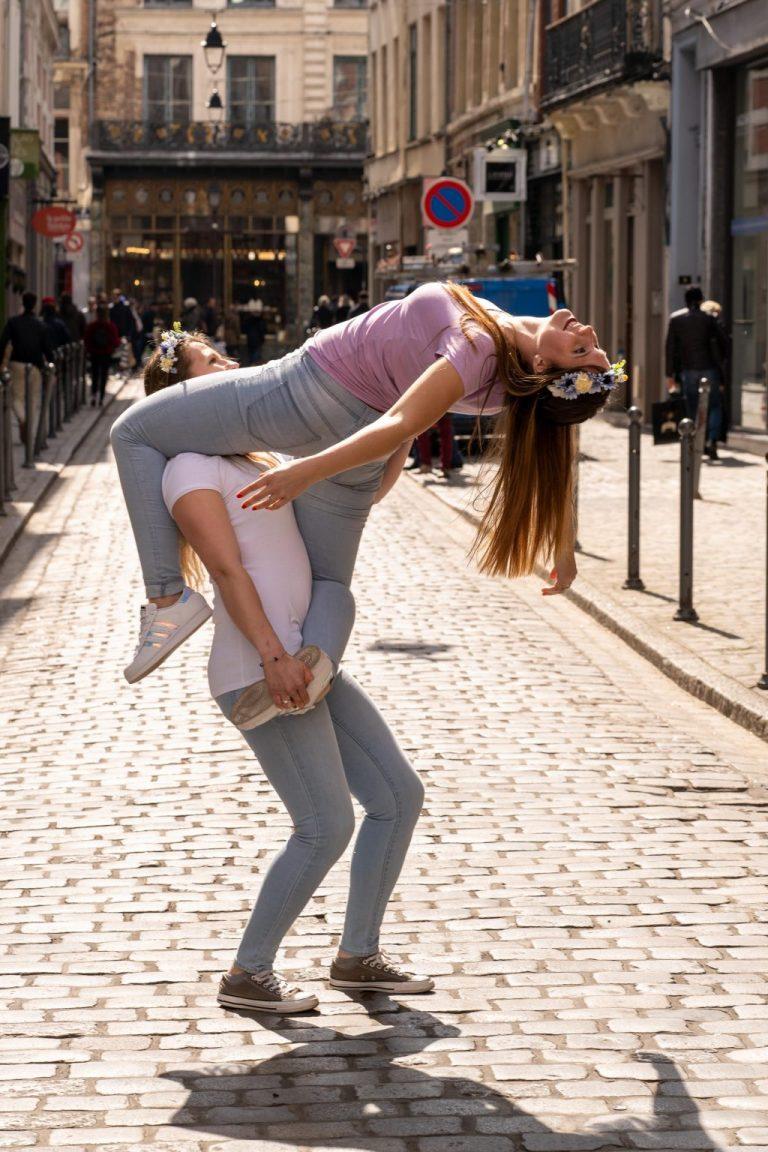 acrogym portée pole dance