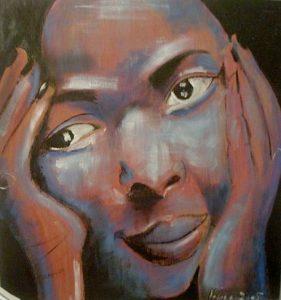 portrait peinture cesaria evora