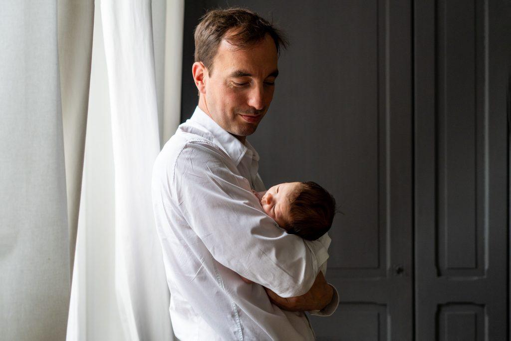 photos bébé papa domicile weppes