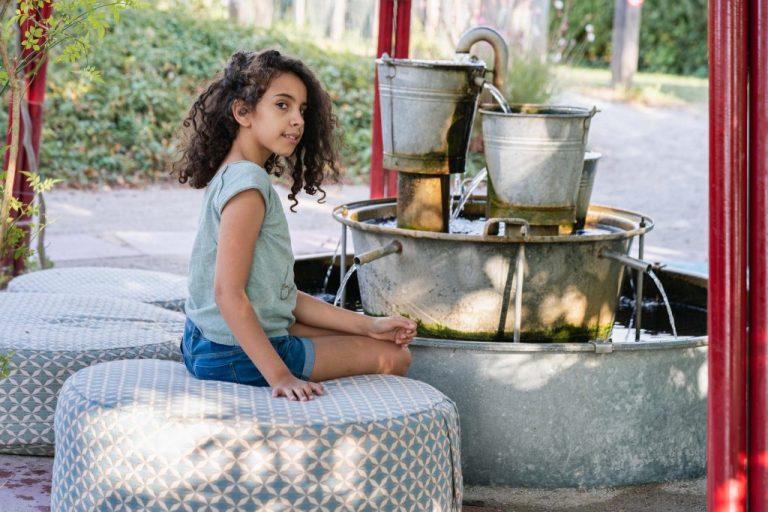 shooting enfant fille 10 ans extérieur parc