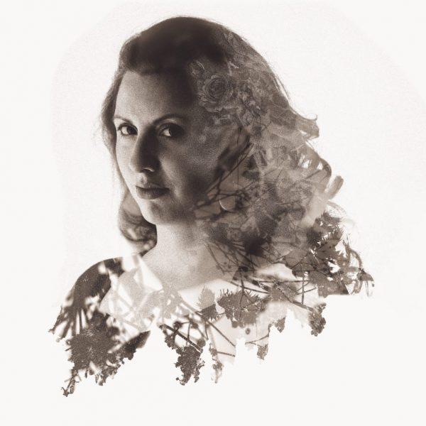 portrait photographe lille Double exposition Hélène Douay