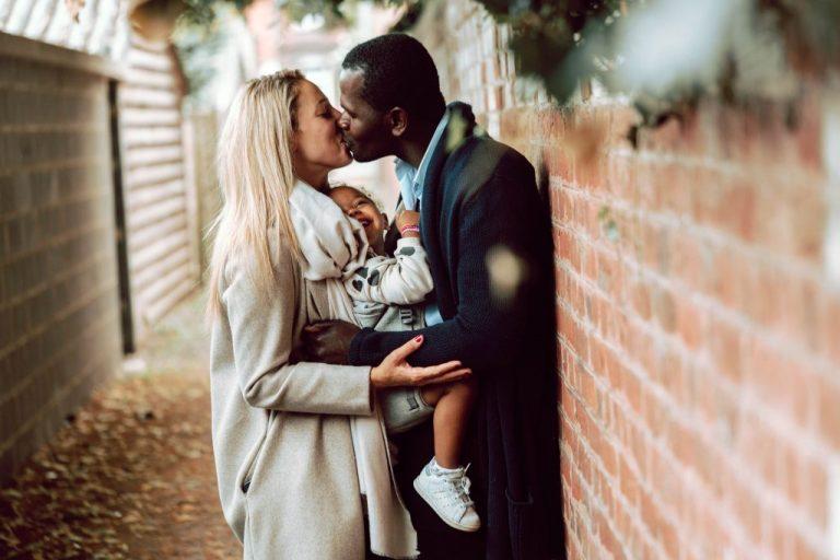 magnifique photo de famille amoureux