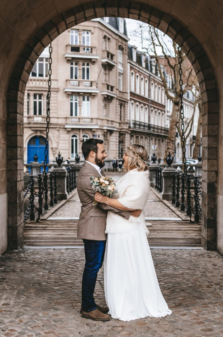 photo de couple mariage covid